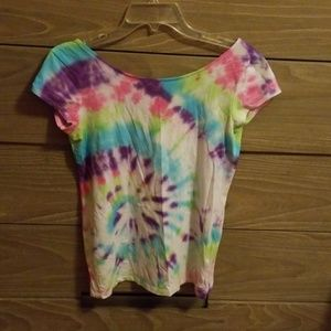 Home tye dyed shirt